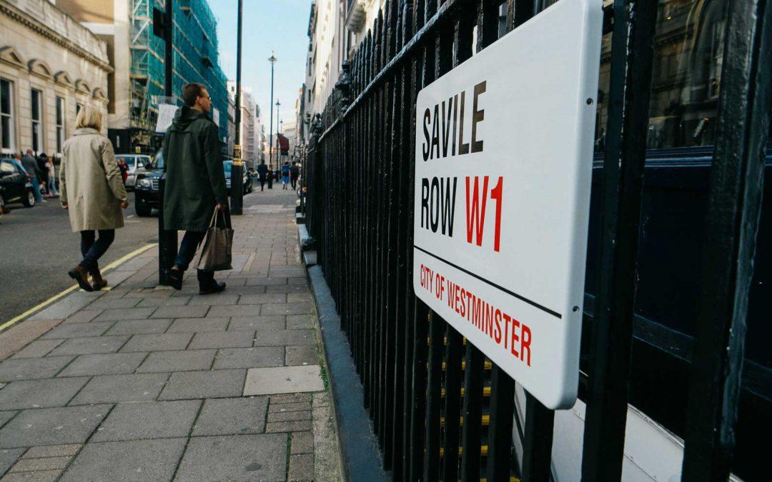 COO Journal: A walk down Savile Row