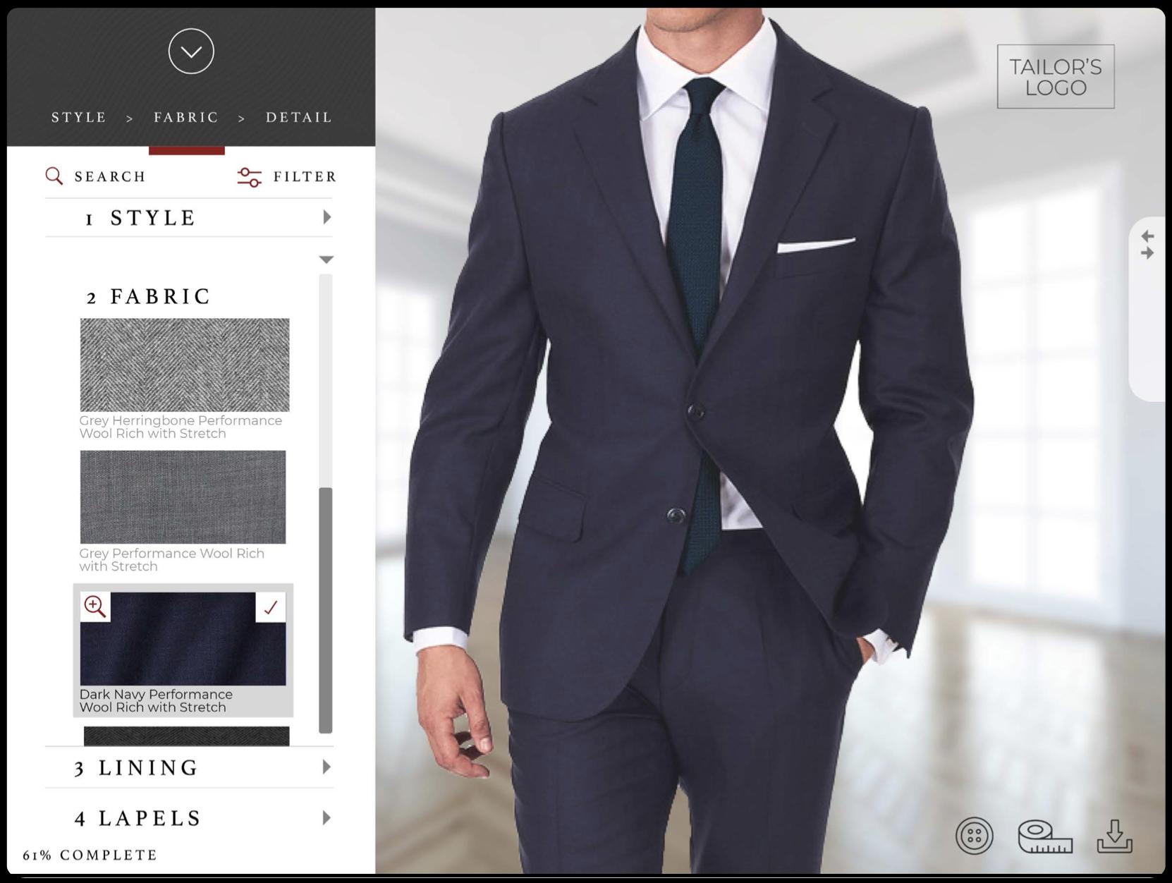 BeSuited 3D Suit Builder
